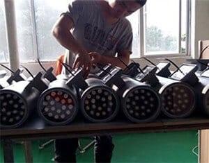 koal led lighting factory production line