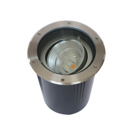Angle Adjustable Low Voltage COB Landscape Well Lights For Driveway, Pathway.