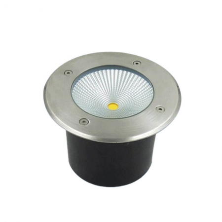 Black Aluminum Outdoor Ground Lighting In Ground Well Lights For Driveway