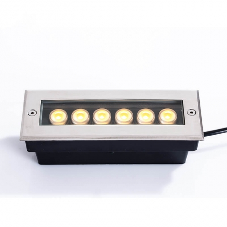 Exterior 24W 36W In Ground Landscape Lighting Fixtures Led Pathway Lights