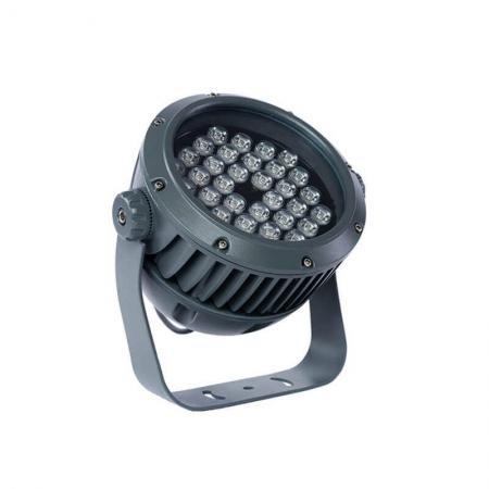 Exterior Waterproof Aluminium Rotatable Smd LED Flood Light Fixtures Ip65 Black Grey