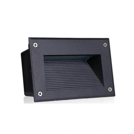 Horizontal Black Grey Outdoor Waterproof Led Stair Lights For Staircases
